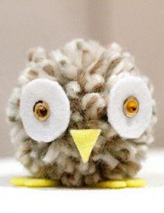 pompon owl!