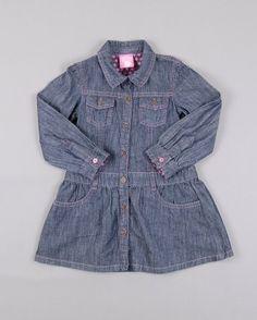 Vestido camisero en denim talla 12 meses marca Lefties http://www.quiquilo.es/catalogo-ropa-segunda-mano/vestido-camisero-en-denim-color-denim-oscuro-marca-lefties.html