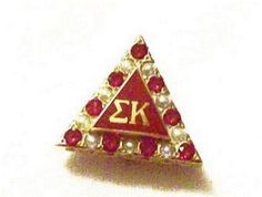 There are so many beautiful Sigma Kappa badges! I cant just pick one to pin!