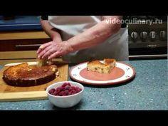 Рецепт - Творожная запеканка с изюмом от videoculinary.ru