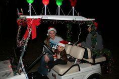 christmas 2011, cart parade