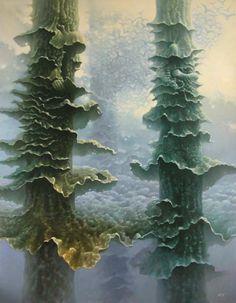 Equanimity Tomasz Alen Kopera Oil on canvas 2010