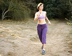 Women who walked briskly for about an hour a day for 14 weeks shrunk their belly fat by 20%