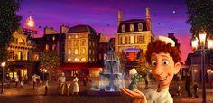 Pixar Post - For The Latest Pixar News: Exciting New Details Surrounding 'La Place de Remy' in Disneyland Paris