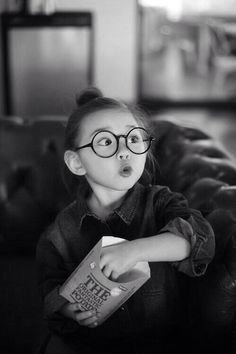 Love for round glasses #Kids&Glasses