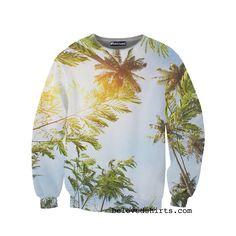 Palm Trees Sweatshirt from #belovedwear