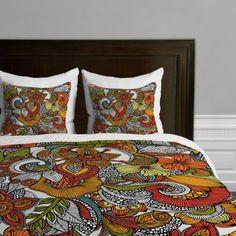 Deny Designs Valentina Ramos Ava Duvet Cover Queen -- You can get more details by clicking on the image-affiliate link.