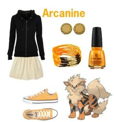 arcanine outfit #pokemon