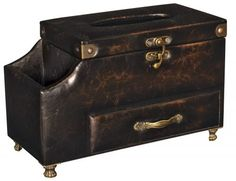 Tissue Box Holder, Tissue Boxes, At Home Furniture Store, Hope Chest, Storage Solutions, Storage Chest, Shed Storage Solutions, Tack Trunk
