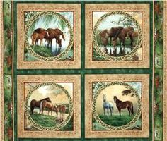 Manufacturer:  Springs Creative Products • Collection:  Willow Brook                                 Pillow Panel Green