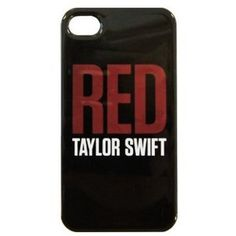 "Black ""RED"" Logo iPhone 4/4S Case"