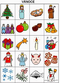 Pro Štípu: Období ZIMA Christmas Activities For Toddlers, Preschool Activities, Advent, Toddler Christmas, Winter Time, Montessori, Alphabet, Games, Logos