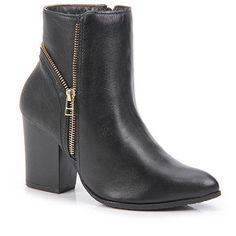 Ankle Boots Feminina Ramarim - Preto - Passarela.com