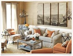 [get the look: olivia living room]  I ballarddesigns.com