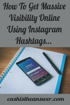You can use Instagram to get massive visibility for your online business with hashtags! Learning the best hashtags for Instagram is the key to increasing the visibility of your content and getting more followers, leads and sales of your products and services. In this article we'll delve into the top hashtags for Instagram to grow your brand and following. Click the pin to see full blog post #Instagramhashtags #besthashtagsforinstagram #onlinemarketing #tophashtags #instagrammarketing Facebook Marketing, Internet Marketing, Online Marketing, Way To Make Money, Make Money Online, Best Online Business Ideas, Advertising Strategies, Get More Followers, Business Planning