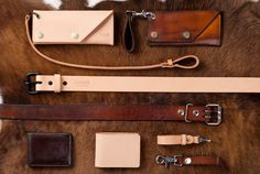 tanner goods leather!