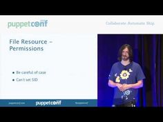 Managing Windows with Puppet - PuppetConf 2013 - YouTube