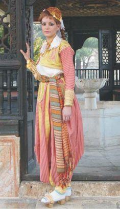 Albanian woman's costume from Tetova