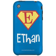 Pea Pod Paper and Gifts Superhero Personalized Cell Phone Case