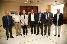 Με το νέο Προεδρείο του Συνδέσμου Επιχειρήσεων Επιβατηγού Ναυτιλίας (ΣΕΕΝ) συναντήθηκε η Διοίκηση του ΟΛΠ