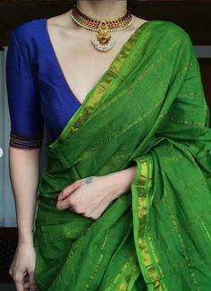 Saree Blouse Designs, Blouse Patterns, Saree Color Combinations, Checks Saree, Saree Trends, Saree Models, Saree Look, Dream Closets, Beautiful Bollywood Actress