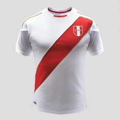 2018 World Cup Jersey Peru Home Replica White Shirt [BFC530]