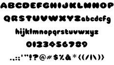 Babycakes font by Babycakez - FontSpace