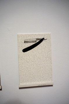 """""""Ira"""" de la Serie """"Los 7 pecados capitales"""" Agustín Bayón. Exposición colectiva """"Dibujo expandido. Colección DKW"""" Museo ABC Madrid. #arte #art #artecontemporáneo #contemporaryart #Dibujo #Arterecord 2015 https://twitter.com/arterecord"""