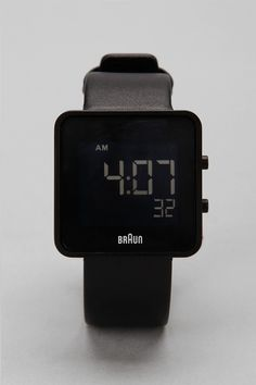 Braun Square Digital Watch