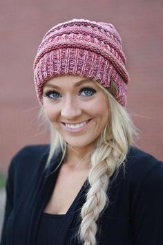 540173f86ee CC Beanie ~ Speckled Red – The Pulse Boutique