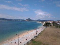 23/07/15 Vista de nuestro paseo marítimo desde el Fuerte de San Martín. Date una vuelta por Santoña, ¡Santoña te espera!