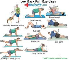 Back stretching lower back pain sciatica