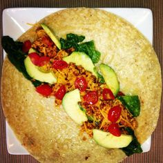 Taco with Turkey and Brown Rice Tortilla | Jenelle Summers