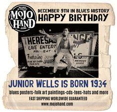 Junior Wells, Classic Blues, Buddy Guy, Blue Artwork, Concert Posters, Songs, Shit Happens, History, Folk Art