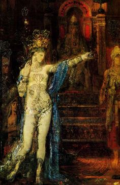 On view now til December 9, 2012, the Hammer Museum will present an exhibition devoted to Gustave Moreau's Salome Dancing before Herod,