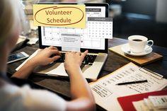 volunteer & employee scheduling