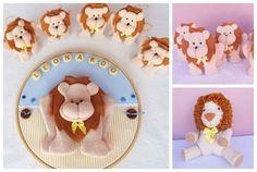 Kit Maternidade Leãozinho - 12 peças, leão, leãozinho, festa leão, safari, lembrancinha leão, sachê leãozinho, lembrancinha leãozinho, tema safari, baby lyon, porta de maternidade leãozinho, porta de maternidade safari, lembrança de nascimento, chá de bebê leãozinho