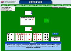 Learn the fundamentals of the bridge card game. Including 10 basic lessons to start you playing today. Bridge Card Game, Duplicate Bridge, Play Bridge, Quizzes, Card Games, This Or That Questions, Learning, Cards, Maps