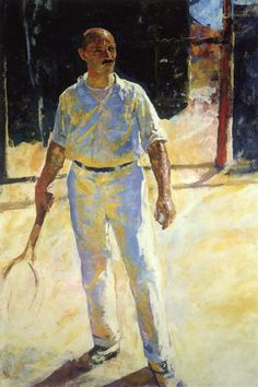 Charles Webster Hawthorne - The Tennis Player 1924