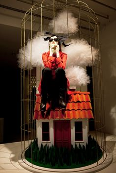 Window Display | Moschino, London, November 2012  | The House of Beccaria#