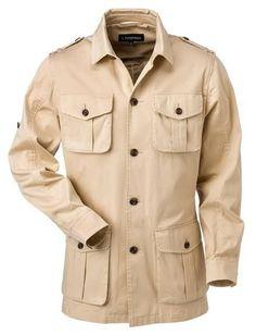 Safari Shirt, Safari Jacket, Men's Coats And Jackets, Cool Jackets, Casual Jackets, High Waisted Slacks, Safari Outfits, Vintage Safari, Adventure Outfit