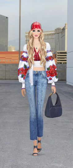 Covet Fashion Games, Ely, Beautiful Dolls, Cyber, Bell Bottom Jeans, Look, Victoria's Secret, Sketches, Anime