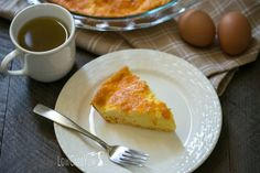 It's not always easy to find time to cook. Bake anegg and cheese quiche on the weekend to have easy egg fast friendly meals during the week.