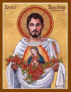 St. Juan Diego icon by Theophilia.deviantart.com on @DeviantArt
