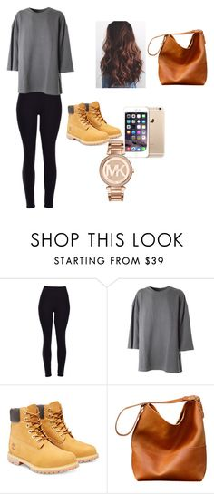 """Untitled #11"" by ermiraadili on Polyvore featuring adidas Originals, Timberland, Michael Kors, women's clothing, women's fashion, women, female, woman, misses and juniors"