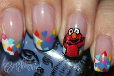 Copy That, Copy Cat: Elmo Inspired Nails