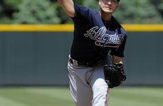 Brandon Beachy..Atlanta Braves  sweep the Rockies away!