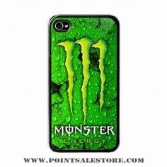 MONSTER ENERGY 7 IPHONE 4 4S CASE