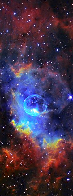 ♥ Bubble Nebula