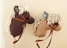 DIY Stick Horses from a beautiful mess